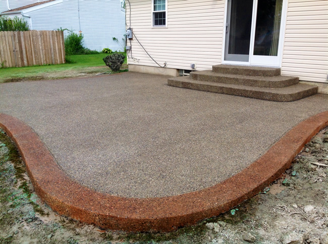 Exposed Aggregate Concrete - Exposed Aggregate Concrete Real Help Custom Concrete Company Buffalo