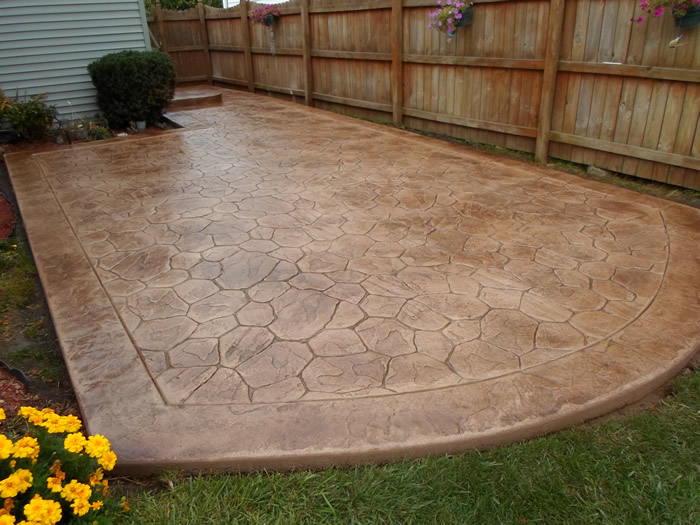 patios walkways gallery real help custom concrete