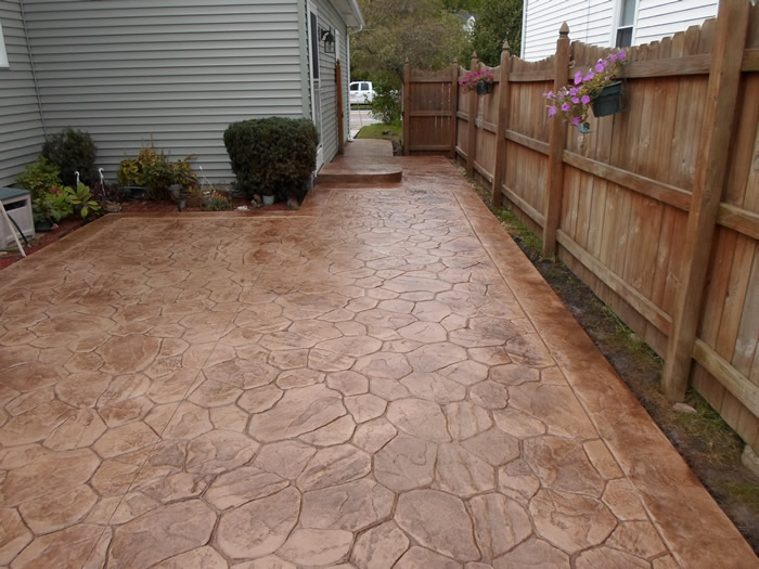 Patios & Walkways Gallery Real Help Custom Concrete Company Buffalo ...