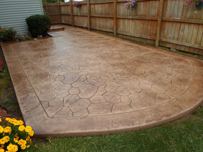 stamped concrete real help custom concrete company buffalo ny