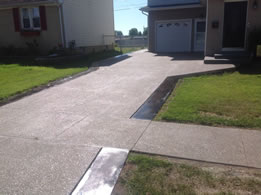 Concrete Driveways Exposed Aggregate By Real Help Concrete