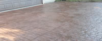 Acid Stained Concrete Driveways